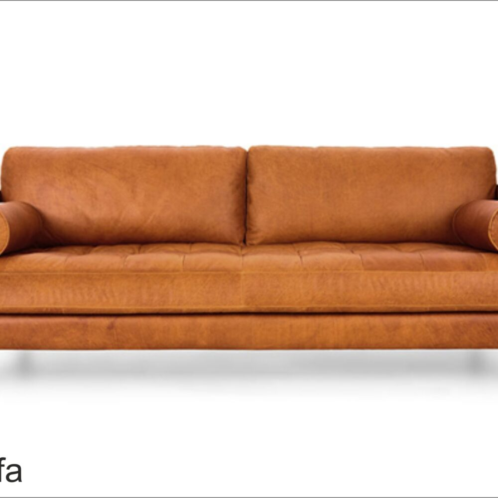 Soffa 2a Orange Bellone